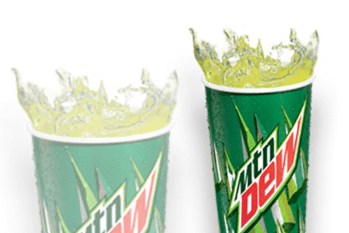 MOUNTAIN DEW - LARGE